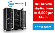 Dell Servers starting from Rs. 5,000 per Month